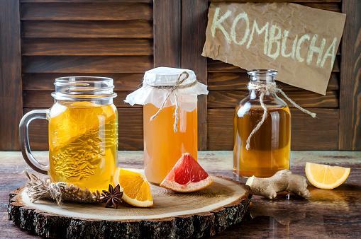Kombucha, la bebida de moda